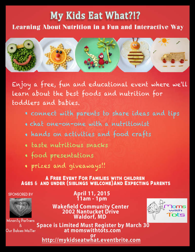 Parent Workshop In Wakefield March 11th >> My Kids Eat What Interactive Kid Nutrition Workshop Moms