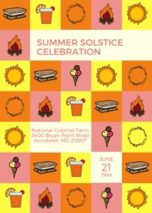 Summer Solstice Celebration @ National Colonial Farm | Accokeek | Maryland | United States