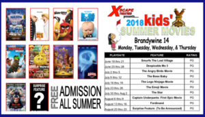 Xscape Summer Movies @ Xscape Theatres | Brandywine | Maryland | United States