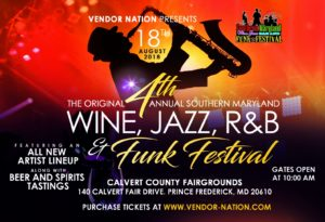 4th Annual Southern MD Wine, Jazz, R&B and Funk Festival @ Calvert County Fairgrounds | Prince Frederick | Maryland | United States